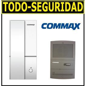 Kit Portero Electrico Telefono Commax Frente Embutir Dp2s