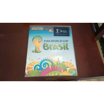 Álbum Copa Do Mundo 2014 , Já Colado, Excelente Estado