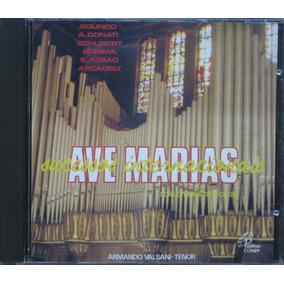 Armando Valsani Cd Ave Marias Solo Orquestra E Coral