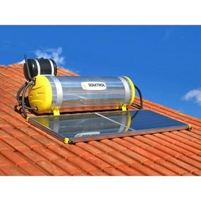 Kit Aquecedor Solar (boiler+placa) 200 Litros - Soletrol