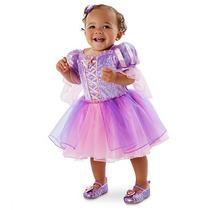 Disfraz Rapunzel Bebe Disney Store Vestido Enredados