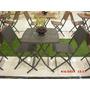 Muebles Mesa Silla Piscina Balcon Terraza Comedor Sintetico