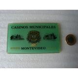 Antiga Ficha De Cassino - Uruguai - Montevideo - Roleta