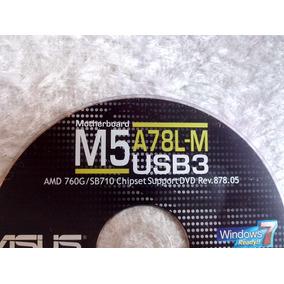 Cd Com Os Drivers Da Placa Mae Asus M5a78l-m/usb3