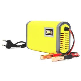 Carregador Bateria 6ah P Motor Home Trailer Caminhao Bivolt
