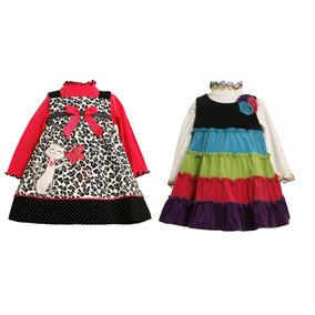 Vestido Bonnie Baby- Tamanho 12 Meses Promoção!!!