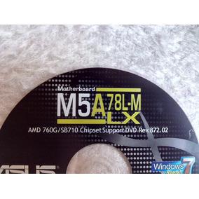 Cd Com Os Drivers Da Placa Mae Asus M5a78l-m/lx