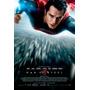 Banners Lona Gigante Cine / El Hombre De Acero Superman 2014