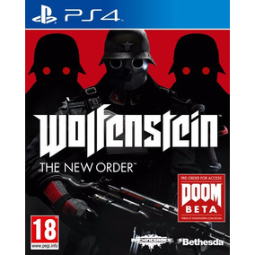 Wolfenstein The New Order Juego Ps4 Playstation 4 Stock