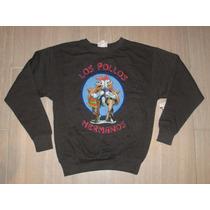 Blusa Moleton Los Pollos Hermanos Breaking Bad Fleece Gg