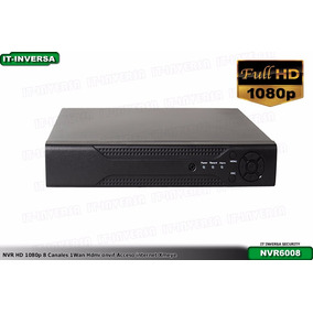 Nvr Hd 1080p 8 Canales Hdmi Onvif Acceso Internet Xmeye