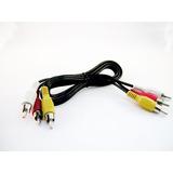 Cable Rca A Rca 3 Colores Dvd A Tv