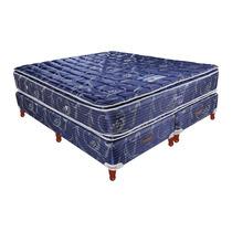Colchón Somier Taurus Luxor Resorte 140x190 Pillow Super Top