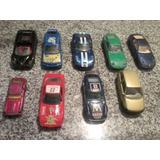 Lote Auto Burago Chevrolet Ferrari Porsche Dodge Ford Datsun