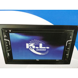 Radio Kl Audio Sq30 2 Din Dvd, Bluetooth, Usb, Camara Revers