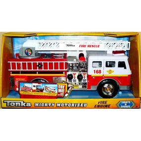 Tonka Mighty Motorized Fire Engine Con Luces Y Sonidos - Vlf