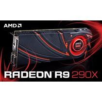 Placa De Vídeo Sapphire Amd Radeon R9 290x 4gb 512-bits 4k