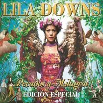 Lila Downs Pecados Y Milagros Edicion Especial Cd + Dvd