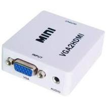 Convertidor Vga A Hdmi Con Audio Full Hd 1080p