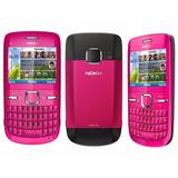 Carcasa Completa Con Botonera Nokia C3 Original