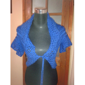 Tapadito Chaleco Tejido A Crochet