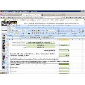 Plantilla Declaracion Islr Persona Natural Excel