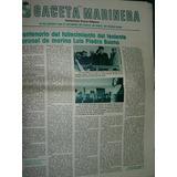 Suple Puerto Belgrano Gaceta Marinera 31/7/83 Piedra Buena
