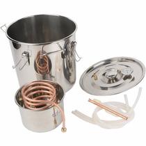 Caldera Destiladora De Agua Y Alcohol Capacidad 18 Litros