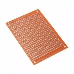 Placa De Fenolite 5x7cm Perfurada 432 Furos Frete 10,00