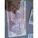 Billete 50 Pesos Papel Coleccion
