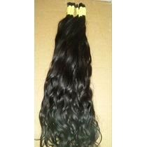 Cabelo Natural P/mega Hair Leve Ondas 75 Cm 150 Gramas