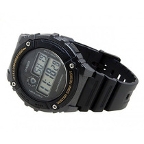 Relógio Casio Masculino Digital W-216h-1b Preto