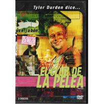 El Club De La Pelea - Brad Pitt - Edward Norton - 2 Dvd´s