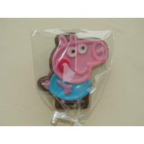 Pirulito De Chocolate Personalizado - George Pig (peppa)