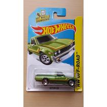 Camioneta Datsun 620 Verde Hot Wheels Die Cast 1/64