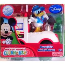 Camion Ambulancia De Donald El Amigo De Mickey Mouse