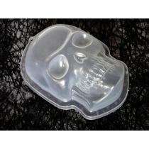 Calaca Molde Gelatina Plástico Decoración Halloween Cráneo