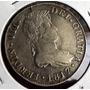 Moneda 8 Reales Guatemala 1817 Plata Excelente