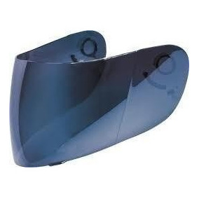 Viseira Azul Iridium Espelhada Capacete Yohe Street 2mm