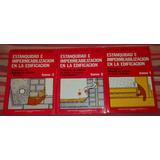 Librcrd Estanquidad Impermeabilización Edificación (3 Tomos)