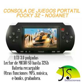 Consola De Juegos Pocky 32 Bit-noganet