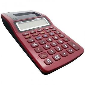 Calculadora De Mesa Casio Com Impressão Cinza Hr-8tm