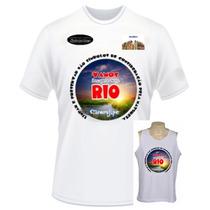 Camiseta Personalizada C/ Sua Estampa Evento Festa Abada Etc