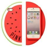 Funda 3d Victoria Secret Iphone 5 5s 6 Pink Anana Sandia