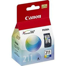 Cartucho Canon Cl-211 Color - Nuevo Sellado Vencido