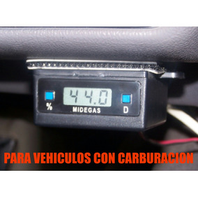 Medidor De Gas Lp En Litros Para Vehículos Midegas C