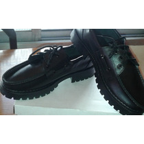 Zapato De Cuero Leñador Reforzado