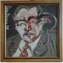 Perez Becerra Alejandro, Acrilico, 1984, 57x57cm, Pintura.