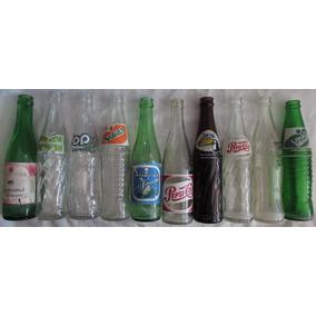 Lote Com 10 Garrafas Coca-cola Sukita Sielva Brahma - L27
