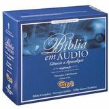 Cd-mp3 - Áudiobook - Bíblia Sagrada Narrada Por Cid Moreira